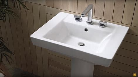 how to use straightener pedistal sink no countertop bathroom sinks find your new american standard drop in