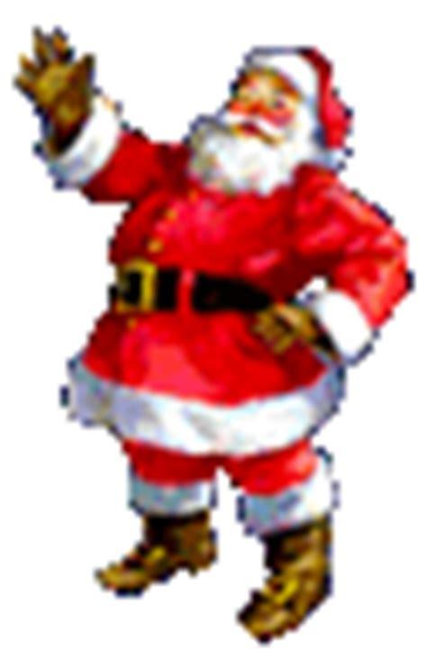 anmated waving snata free animations clip santa merry