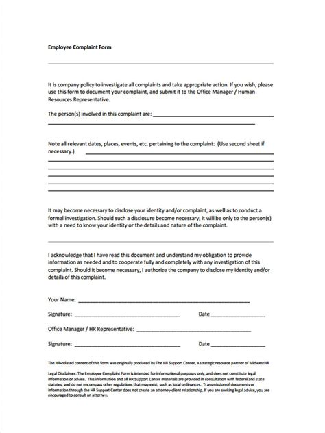 grievance report sle hr investigation report template 28 images workplace