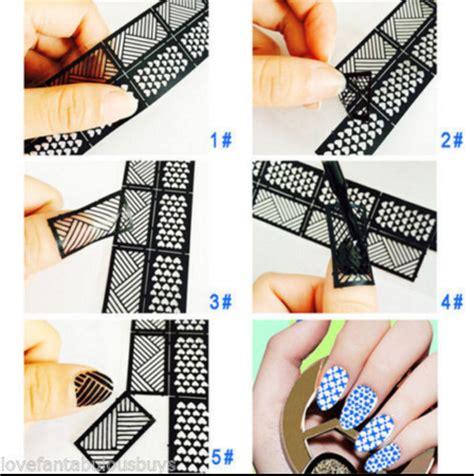 Leopard Print Wall Stickers leopard print vinyl stencil nail decal nlk 13 online