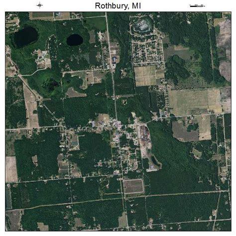 rothbury michigan map aerial photography map of rothbury mi michigan