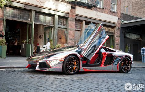 rainbow chrome lamborghini all colours of the rainbow lamborghini aventador lp700 4
