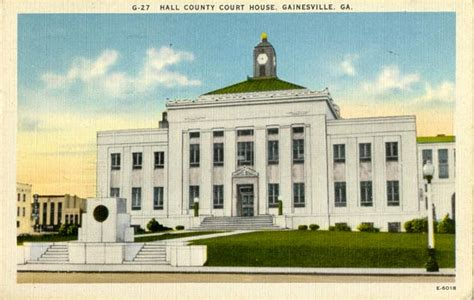 Post Office Gainesville Ga by Postcards From County