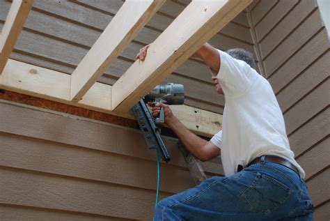 build  shed roof   deck deckscom