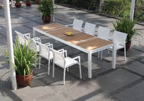 Modern Patio Table Modern Outdoor Tables Outdoor Dining Tables Viesso
