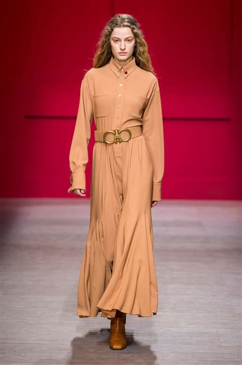 Frock Horror Of The Week Catwalk 9 by Salvatore Ferragamo At Milan Fashion Week Fall 2018