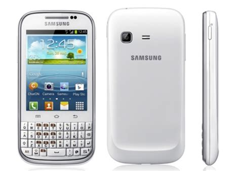 Handphone Samsung Galaxy Chat B5330 samsung galaxy chat specifications and price details