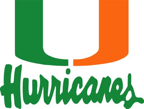 Nfl Home Decor by Miami Hurricanes Logo 1 Ncaa Amp Nfl Logos Pinterest