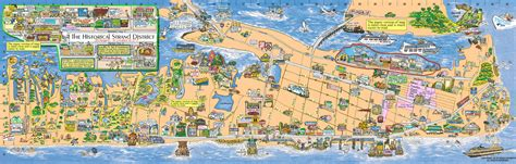 galveston map maps update galveston tourist attractions map galveston map island guide magazine 58