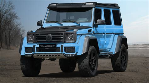 mercedes g500 mansory introduces one mercedes g500 4x4
