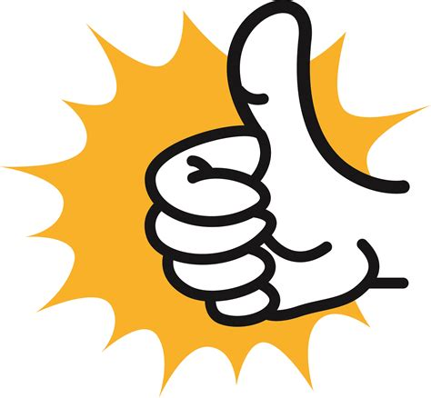 best free clipart thumbs up images clipart best