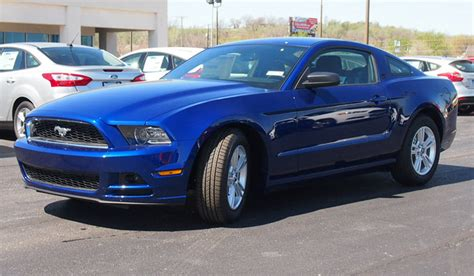 impact blue 2014 mustang paint cross reference