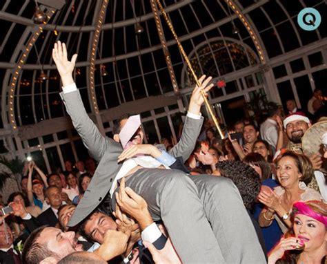 Wedding Zaffa Songs by A Zaffa At A Summer Wedding At Botanic Garden Q