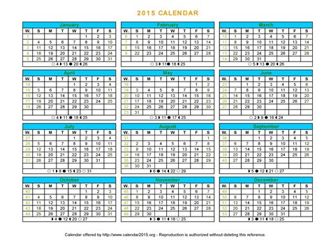 printable leave planner 2015 year planner 2015 excel template excel calendar 2015 uk