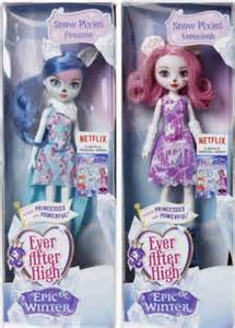 ever after high 2016 epic winter forest pixies foxanne