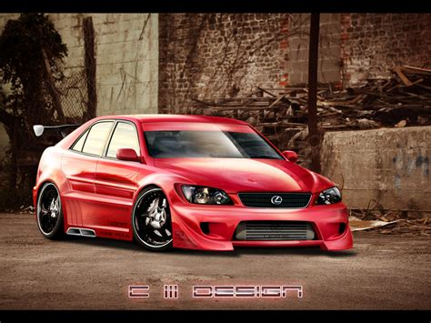 lexus is300 wallpaper lexus is 300 by crashdesign on deviantart