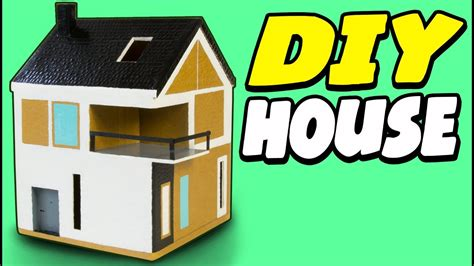 cardboard houses for kids diy cardboard house scandinavian craft ideas for kids on box yourself youtube