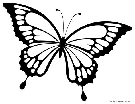 monarch butterfly coloring pages free printable butterfly coloring pages for kids cool2bkids