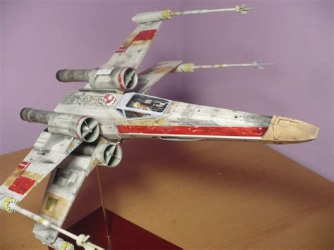 X Wing Papercraft - x wing starfighter wars papercraft