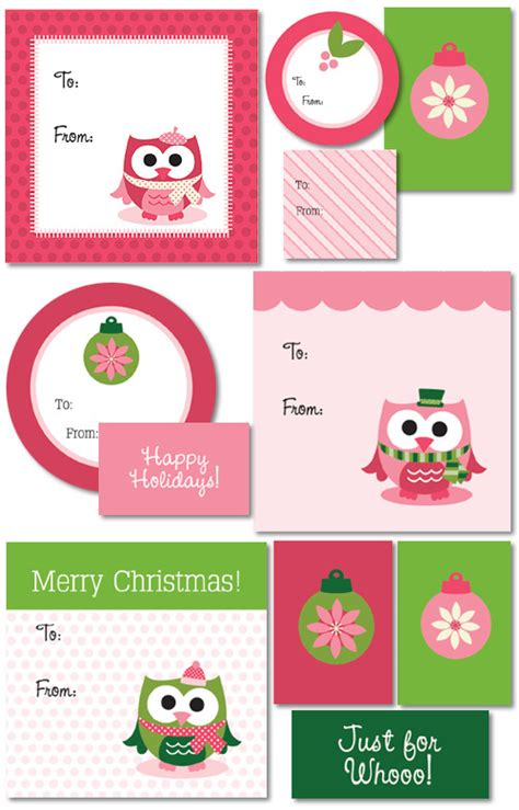 printable gift labels christmas craftionary