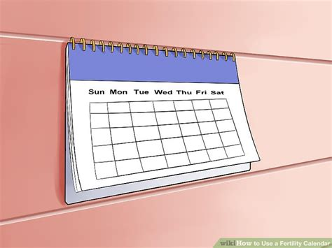 Fertility Calendar How To Use A Fertility Calendar 9 Steps With Pictures