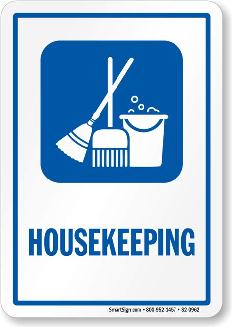 house keeping housekeeping sign cleaning equipment symbol sku s2 0962