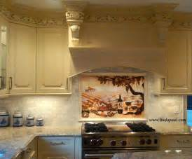 kitchen mural backsplash 17 best images about kitchen mural ideas on pinterest