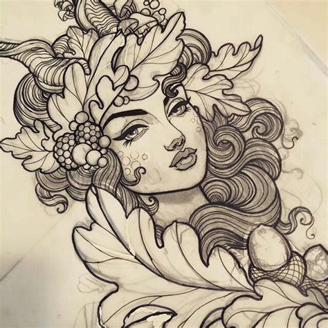 tattoo girl drawing best 25 nature tattoo sleeve ideas on pinterest forest