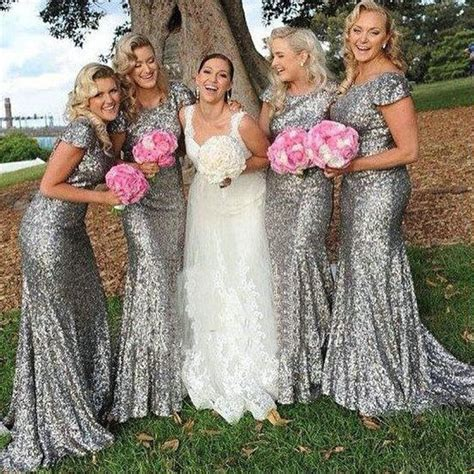 Silver Bridesmaid Dress by 25 Best Ideas About Silver Bridesmaid Dresses On