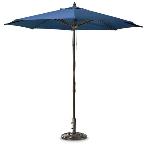 castlecreek 9 ft market patio umbrella 585865 patio