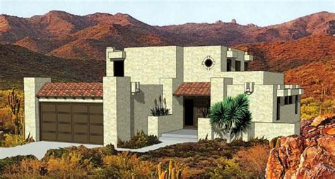 southwest style home plans southwestern house plan chp 28020 at coolhouseplans