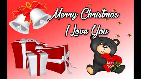 merry christmas  love   christmas love message youtube