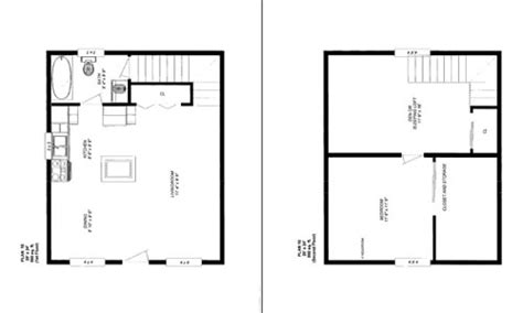 20 X 20 Cabin Plans by Friesen S Custom Cabins Plan 1 Photos