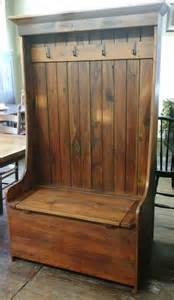 Handmade Furniture Pennsylvania - reclaimed barn wood furniture barn wood settle bench