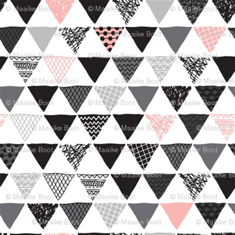 geometric pattern solver geometric tribal aztec triangle pink modern patterns