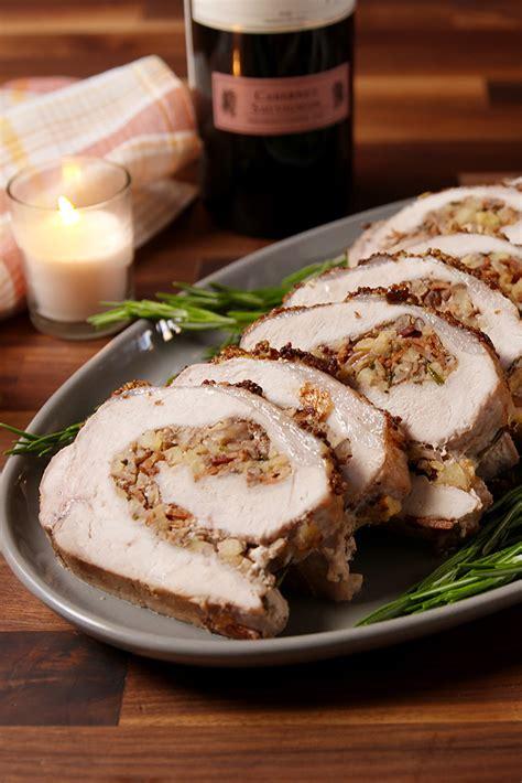 best stuffed pork loin recipe how to make stuffed pork loin