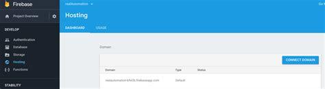 google firebase custom domain mapping  godaddy