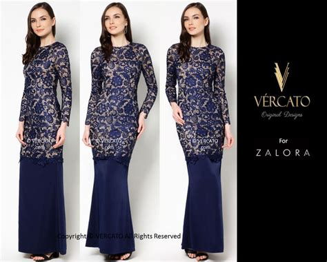 Sxf1t3l Black Dress Dress Hitam Dress Biru Blue Dress Dress Pesta vercato liz lace kurung navy blue www vercato fashion wedding lace