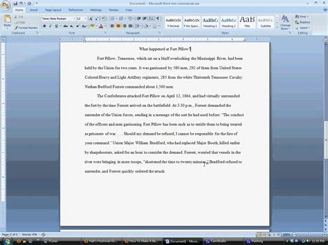 turabian template for word chicago style research paper template word
