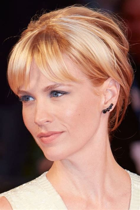 layered hairstyles with bangs and tuck the ears short hair with bangs 40 seriously stylish looks