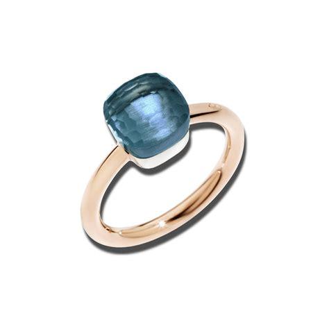 pomellato ring pomellato nudo petit topas ring kaufen brogle
