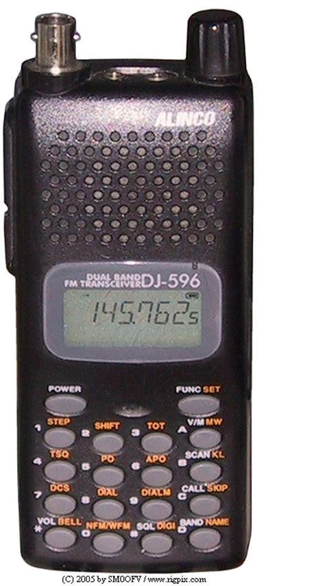 Alinco Dj A10 Vhf 136 174 Mhz rigpix database alinco dj 596e