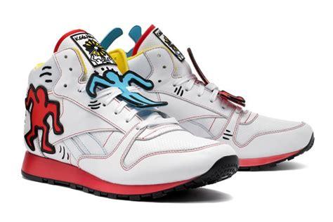 Original Reebok Classic Keith Haring Shoes Sepatu Sneakers Pria Murah Reebok Classics X Keith Haring Foundation Drop 2