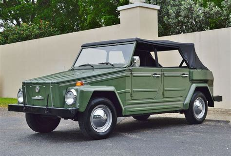 1974 volkswagen thing type 181 all original 33k mile driver 1974 volkswagen type 181
