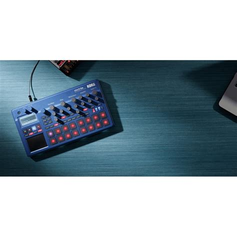 Korg Electribe 2 Metallic Blue korg electribe 2 blue for sale at global audio store groovebox