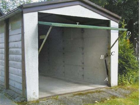 Garage Door Side Springs The Operation Of This Garage Door Is Assisted Usin Chegg