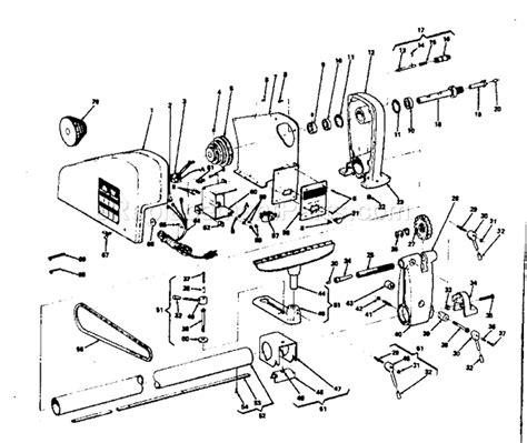 Craftsman 12 In Wood Turning Lathe 11323851