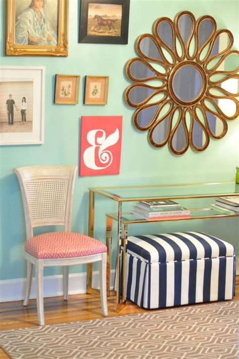 mint and coral home decor coral and navy a match made in heaven