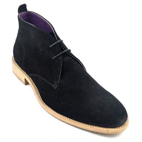 Suede Chukka shop mens black suede chukka boot