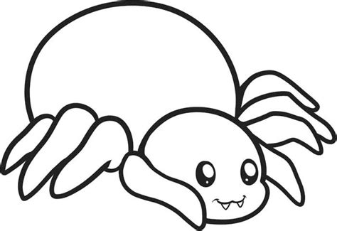 baby spider coloring page sweet animal spider coloring page cute spider